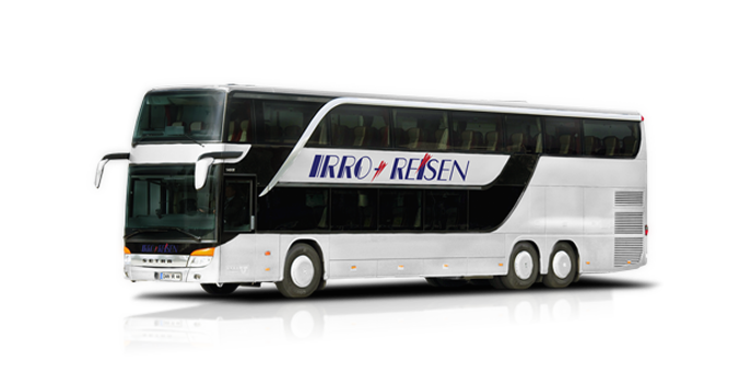Setra S431DT - Coach Charter & Bus Hire with Driver Germany!