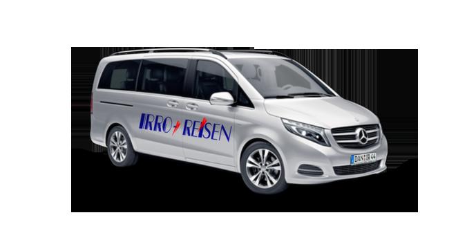 Mercedes Benz V-Klasse - Coach Charter - Bus Rental Germany and Europe!